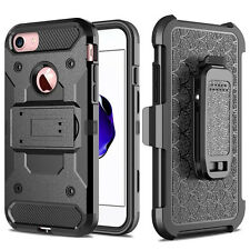 Shockproof Protective Armor W/Belt Clip Stand Case Cover For iPhone 7 Plus 5.5 ""