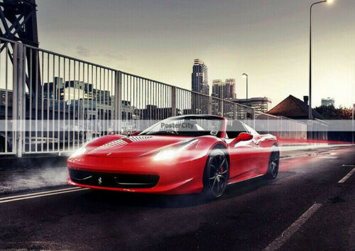 140 SUPER CAR POSTERS PRINTS TO CHOOSE FROM SPEED RACING IMAGES WALL ART SIZE A4