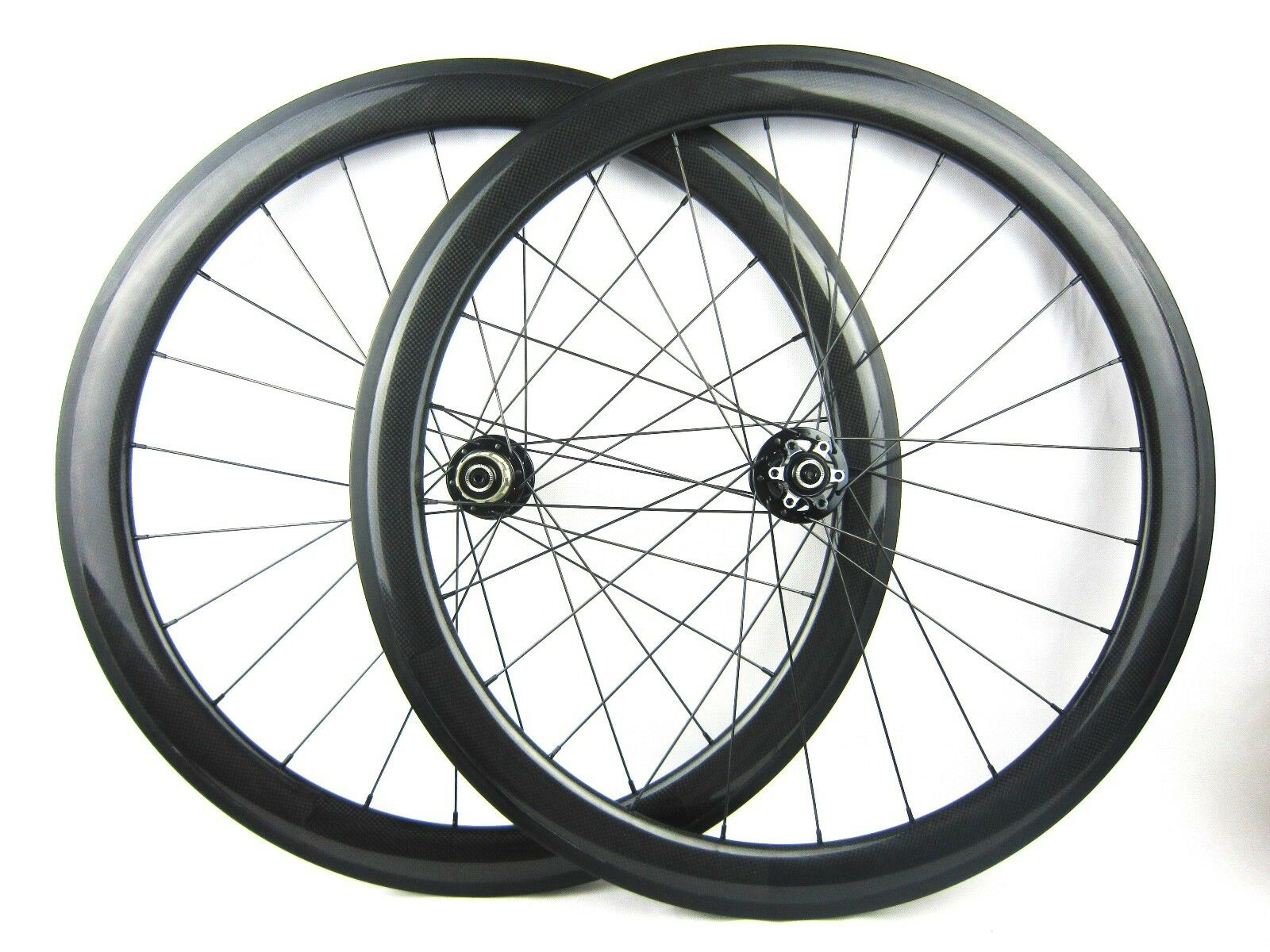 Disc brake  Thru axle 15mm front 50mm Clincher carbon cyclocross bicycle wheels  all goods are specials