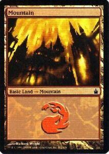 Lot-de-10-montagnes-PREMIUM-FOIL-Mountains-Terrain-Lands-Magic-Mtg