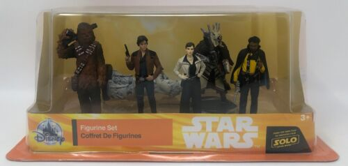 A Star Wars Story Han Solo Figure Play Set Disney Solo 6 Piece