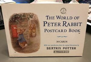 the world of peter rabbit postcard book 30 cards