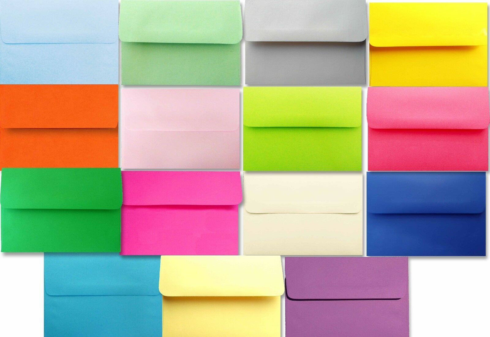 1000 case Astrobrights &more Envelopes A6 for 4 x 6 Invitations Announcements