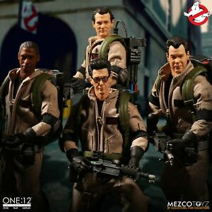 Mezco-Ghostbusters-One-12-Collective-Deluxe-Box-Set-New-In-Stock