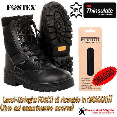 Anfibi Stivali TAN FOSTEX donna uomo militari DAL 39 AL 46