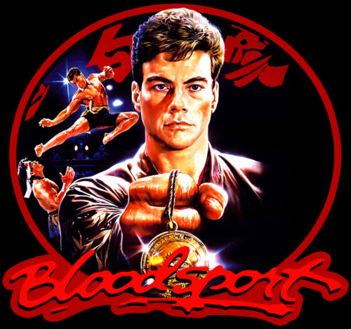 80/'s Van Damme Classic Bloodsport Poster Art custom tee Any Size Any Color