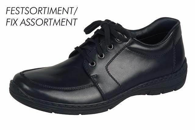 RIEKER 15223-01 Mens Black Lace Up Shoe Formal Shoe Up RRP £59.99 872191