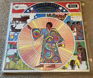 Joseph-And-The-Amazing-Technicolour-Dreamcoat-Original-Vinyl-LP-With-Words