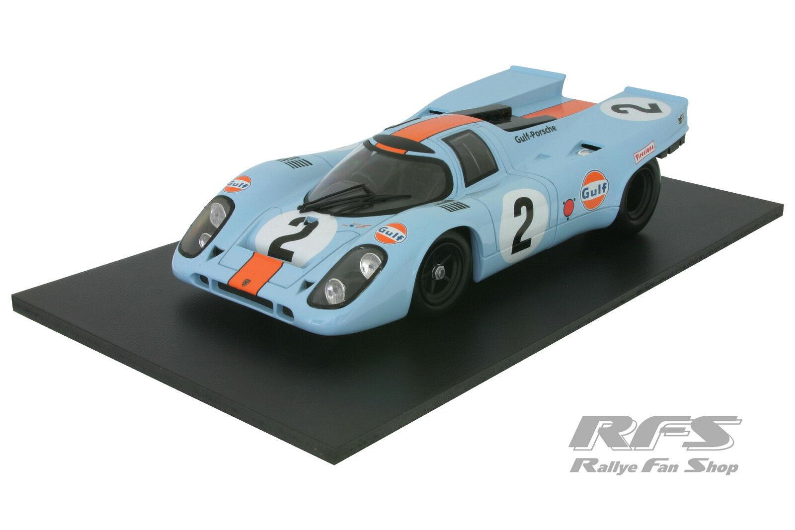 PORSCHE 917 K-KINNUNEN/Rodriguez/rossoman-Winner Daytona 24h 1970 - 1:18