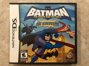 Batman-The-Brave-and-The-Bold-The-Videogame-Nintendo-DS-Complete