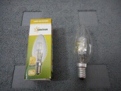 10 St Kerzenlampen Halogen Classic B  28W E14  64542 B klar