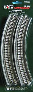 New Kato Unitrack 20-510 Single Track Curve Viaduct 282-45 2pcs G1lbkqso-07171257-108843611