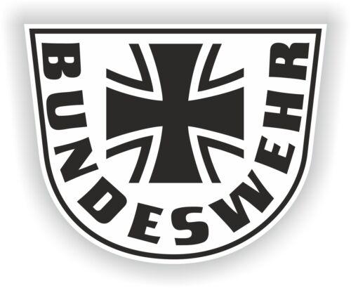 Bundeswehr Germany Coat of Arms Sticker German Motorcycle Helmet Car Stickers Arms