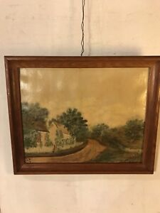 Vintage-Paintings-Oil-On-Canvas-22X18-Signed-Byers-SEE9pix4size-etc-MAKE-OFFER