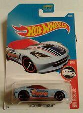 Hot Wheels - HW Rescue 9/10 '14 Corvette Stingray #20/365 (BBDTY04)