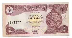 Iraq-1-2-dinaro-1993-FDS-UNC-Pick-78-b-Lotto-3091