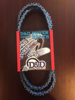 D/&D PowerDrive AA71 Hexagonal V Belt  1//2 x 74.4in  Vbelt