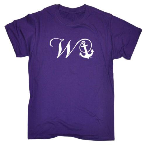 Divertenti Novità T-Shirt UOMO Tee T-Shirt-WANKER Anchor