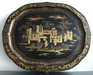 Plateau-laque-Chine-72cm-Napoleon-III-Old-large-chinese-tray-lacquer-canton-XIX