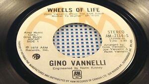 GINO-VANELLI-Wheels-Of-Life-Mardi-Gras-1978-VG-Canada-Pressing-45