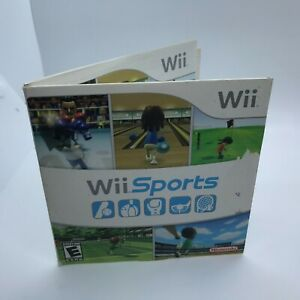 Wii Sports (Wii, 2006) Has manual