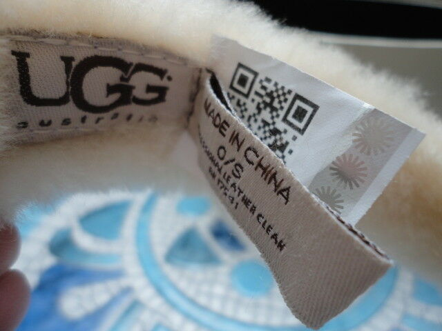 UGG  Ear Muffs   Chestnut with Gold Sequins - image 3
