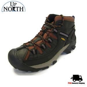 02b290fe3b5 Keen Targhee II Mid Mens Hiking Boot (1013265) Raven WP NEW! FREE ...