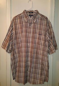 Pre-Owned-Men-s-Mark-Ecko-Plaid-Shirt-XXL