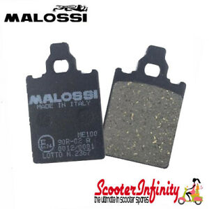 Brake-Disc-Pads-Front-Malossi-Vespa-PX125-UPTO-2011-PX200-MY-Disc-T5-Classic
