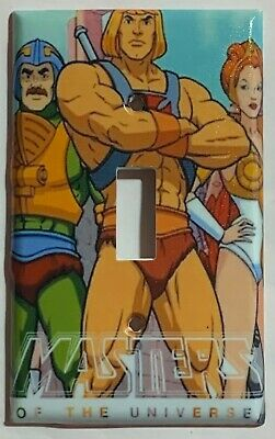 He-Man Masters of the universe Switch Outlet Wall Cover Plate Home decor