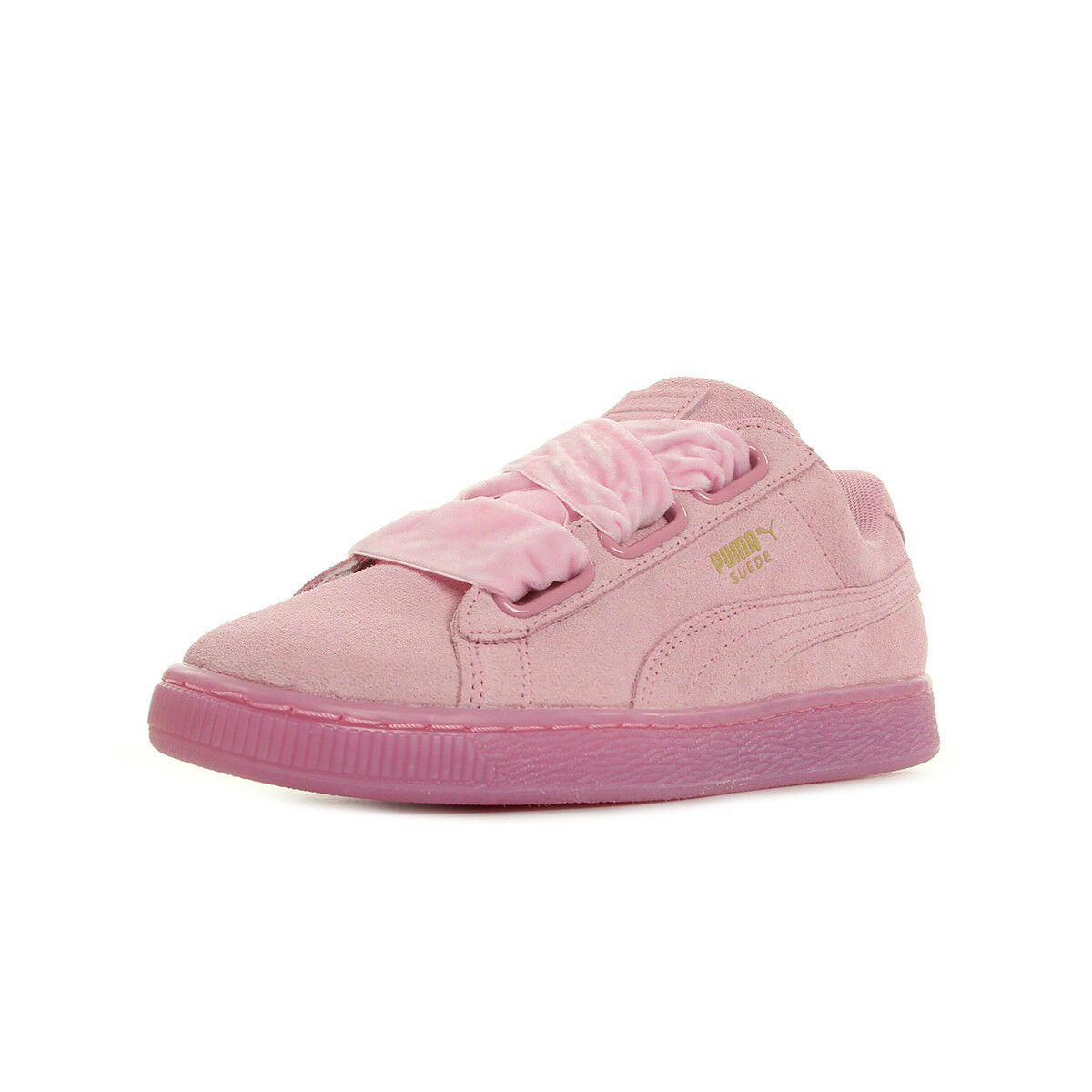 Schuhe Puma Damen Suede Heart Reset Wns rosa