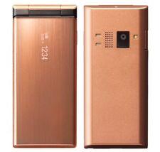 KYOCERA 501KC DIGNO KEITAI ANDROID 5.1 FLIP PHONE GOLD COPPER UNLOCKED NEW 502KC