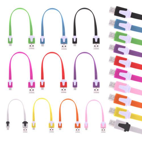Micro USB cable de carga cable de datos 20cm cinta para Samsung huawei