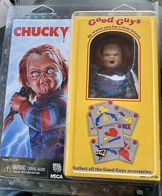 NECA-Childs Play-GOOD GUYS chucky Clothed Action Figure