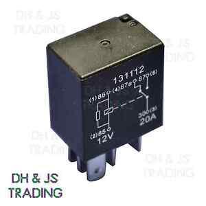 mikro relais 5 pin 12v 20a widerstand umschaltung mini 20 amp ebay. Black Bedroom Furniture Sets. Home Design Ideas