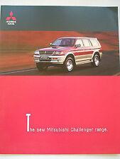 Mitsubishi Challenger range brochure Dec 1998