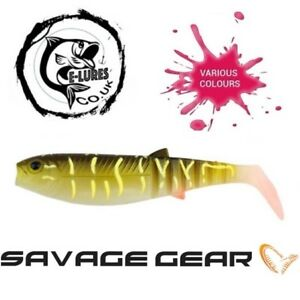 SAVAGE-GEAR-lb-cannibal-shad-15cm-33g-2-PCS-Soft-Fishing-Lure-PIKE-PERCH