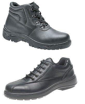 Damen Sicherheit Stiefel/Schuhe Stahlkappen/Statisch Sohle/Nicht Rutsch Größe