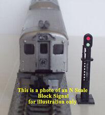 HO Scale 2 Custom Lighted Bachmann Block Signals 2 Sensors & AC/DC Circuit Board