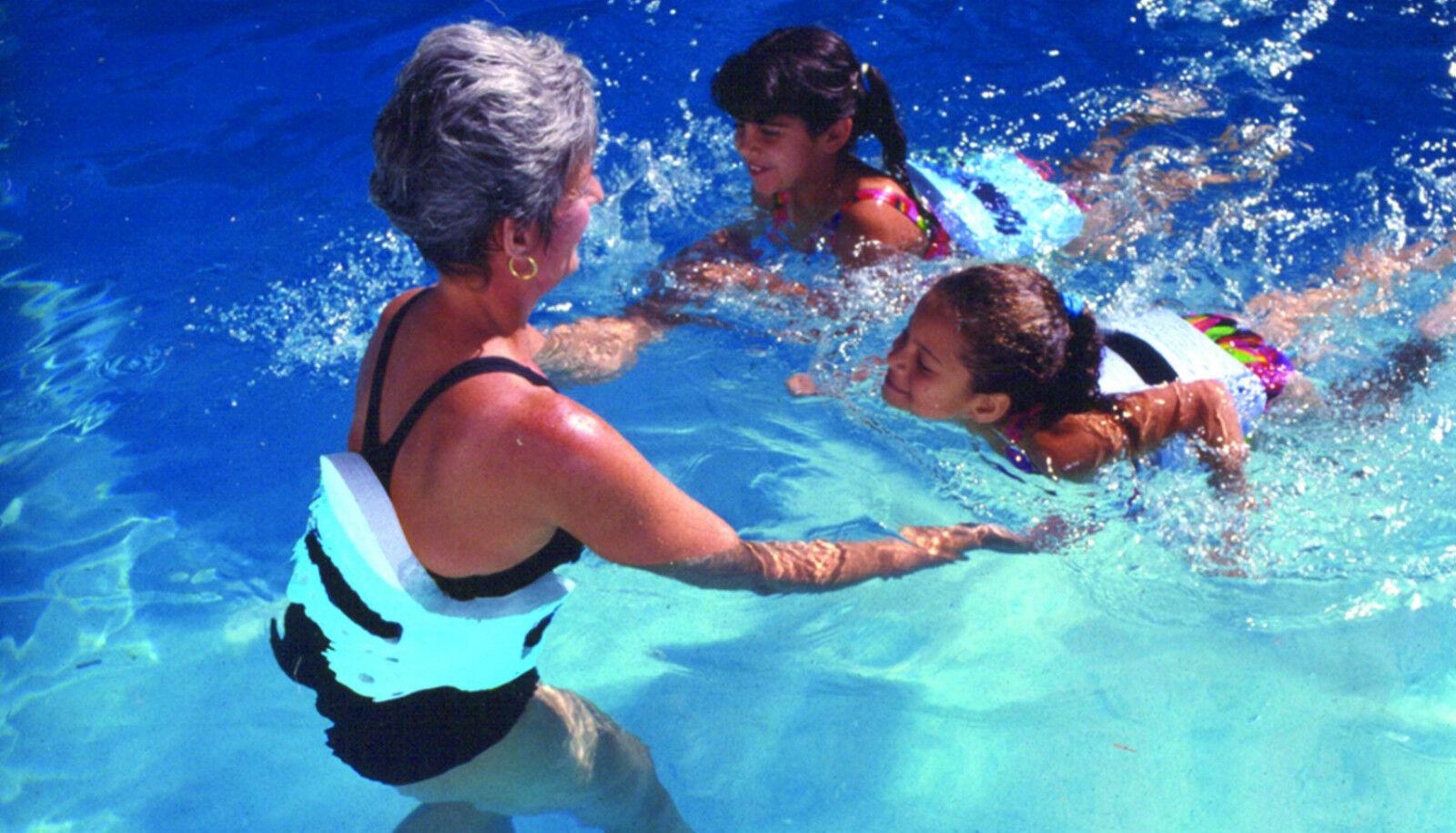 AquaJogger PRO PLUS PLUS PLUS Belt WATER WORKOUT Athletes Swim Men Pool Exercise Blau AP48 e7c540