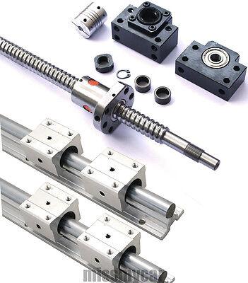 4 new ballscrewRM1605-300/800/1200/1200mm+4K/BF12+6SBR20-300/800/1200mm+12blocks