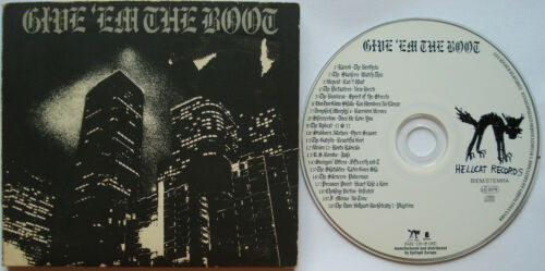 1 von 1 - V/ A   __  Give 'Em The Boot   __  CD  __  Rancid, Slackers __ Hellcat Records