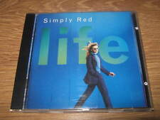 "SIMPLY RED "" LIFE "" CD ALBUM - VERY GOOD CONDITION"