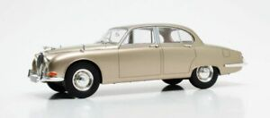 CULT-MODELS-CML054-1-JAGUAR-S-TYPE-model-road-car-gold-metallic-1965-RHD-1-18th