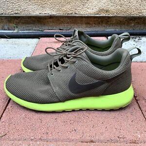 ef7b865258ff Nike Roshe Run Tarp Green Olive Deep Smoke Volt Presto Size 9.5