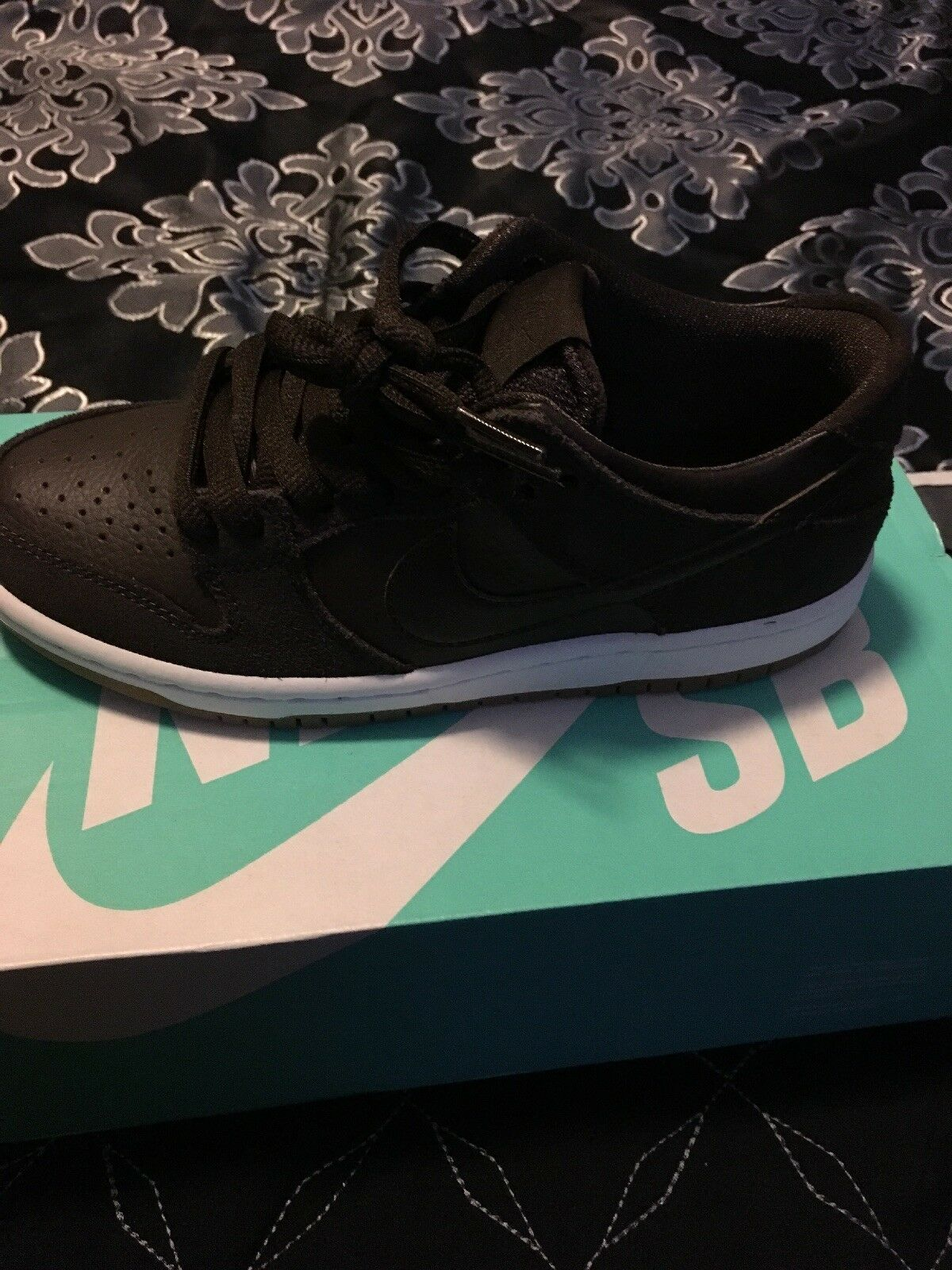 Nike Dunk Low Pro IW sb Baroque Brown Size 4