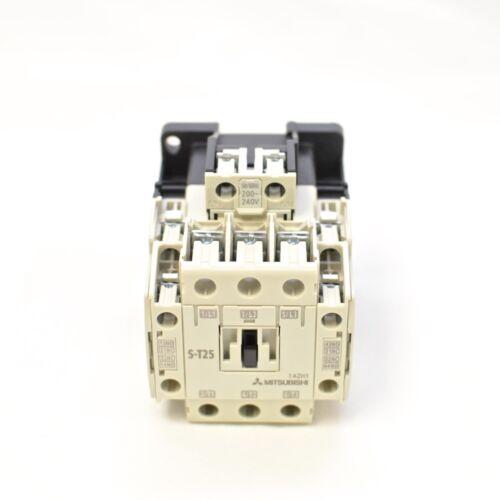 200V~240V MITSUBISHI Magnetic Contactor S-T25 3A2a2b Coil Voltage