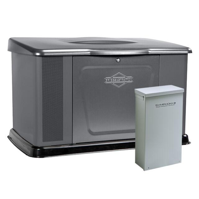 Briggs&Stratton 40346 20kW Standby Generator w/ 200amp Symphony II Switch #40346