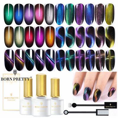 born pretty magnetic nail art uv gel polish cat eye gel