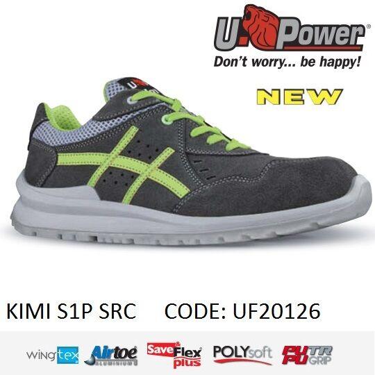 UPOWER Scarpa lavoro Antinfortunistica KIMI S1P SRC U-POWER UF20126 - | Alta Qualità  | Uomo/Donne Scarpa